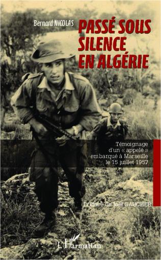 Couverture Passé sous silence en Algérie
