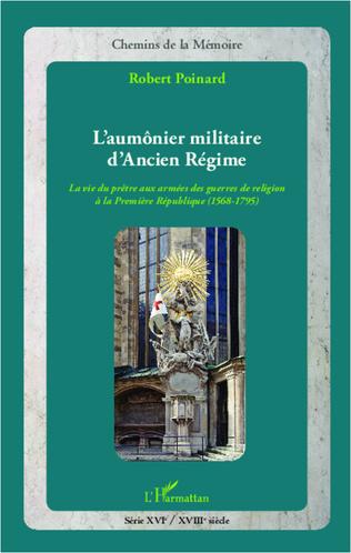Couverture L'aumônier militaire d'Ancien Régime