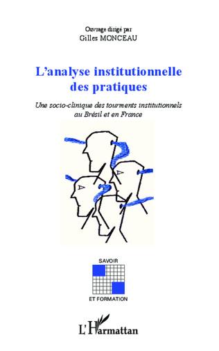 Couverture Analyse insitutionnelle des pratiques