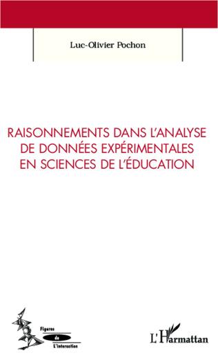 Couverture Raisonnements dans l'analyse de données expérimentales en sciences de l'éducation