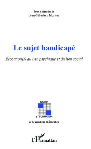 Couverture Handicap, évocation, intégration