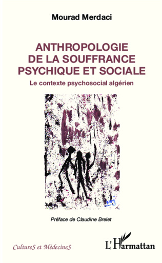 Couverture Anthropologie de la souffrance psychique et sociale