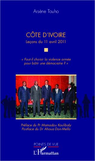Couverture Côte d'Ivoire Leçons du 11 avril 2012