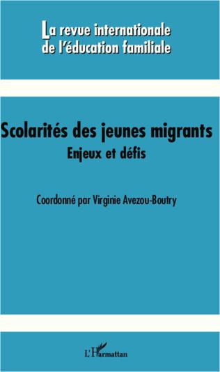 Couverture Scolarités des jeunes migrants