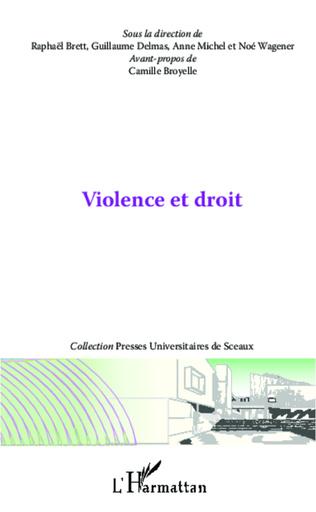 Couverture Violence et droit