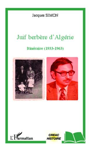 Couverture Juif berbère d'Algérie