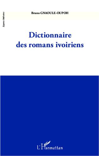 Couverture Dictionnaire des romans ivoiriens