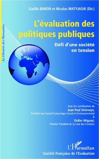 Couverture L'évaluation des politiques publiques