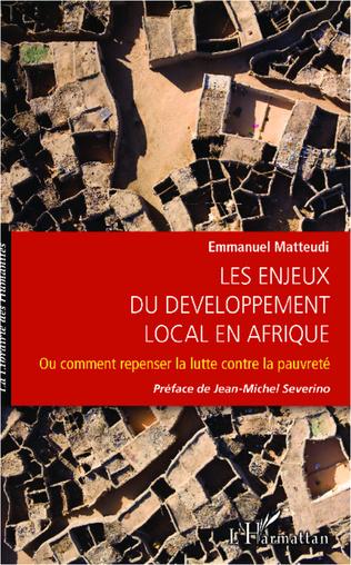 Couverture Enjeux du développement local en Afrique