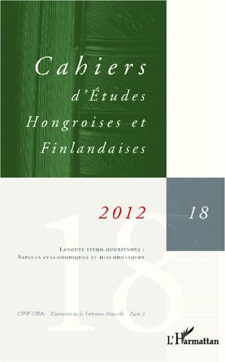 Couverture Langues finno-ougriennes : aspects synchroniques et diachroniques