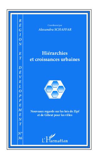 Couverture Hiérarchies et croissances urbaines