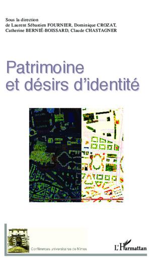 Couverture Patrimoine et désirs d'identité