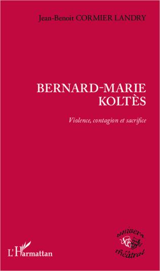 Couverture Bernard-Marie Koltès