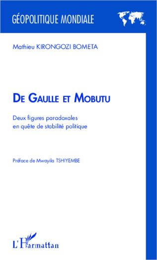 Couverture De Gaulle et Mobutu