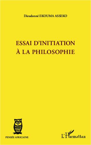 Couverture Essai d'initiation à la philosophie