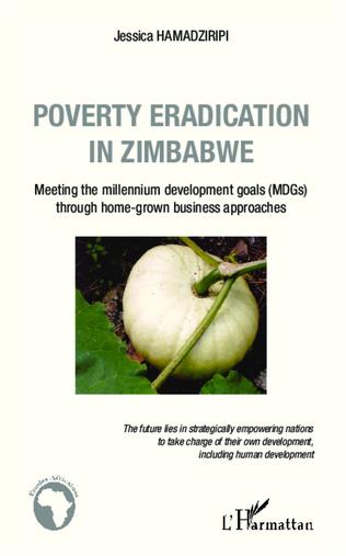 Couverture Poverty eradication in Zimbabwe