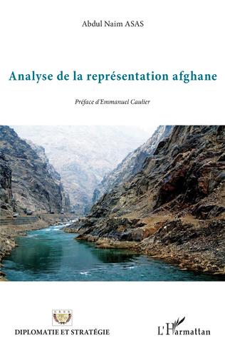 Couverture Analyse de la représentation afghane