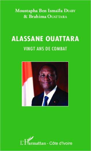 Couverture Alassane Ouattara vingt ans de combat