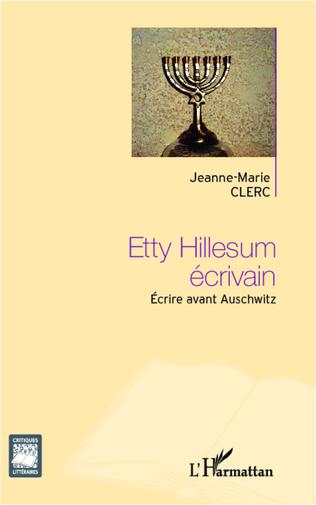 Couverture Etty Hillesum écrivain