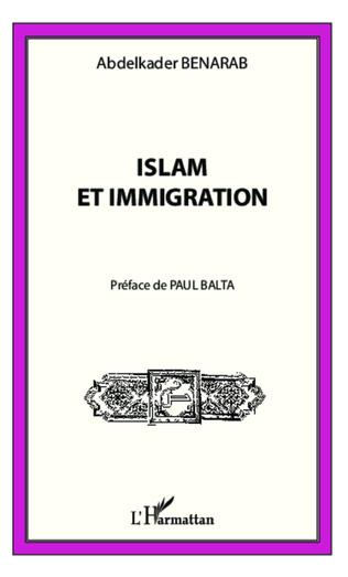 Couverture Islam et immigration
