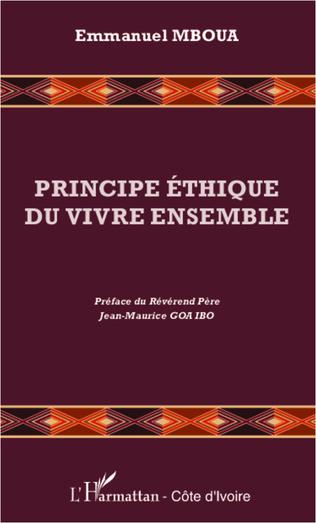Couverture Principe éthique du vivre ensemble
