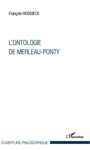 Couverture L'ontologie de Merleau-Ponty