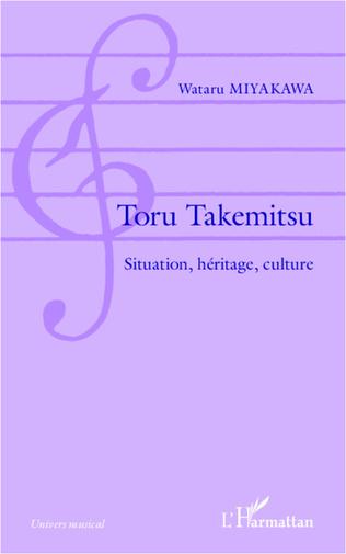 Couverture Toru Takemitsu