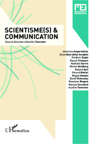 Couverture Scientisme(s) et communication