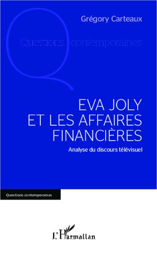 Couverture Eva Joly et les affaires financières