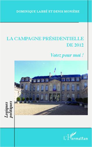 Couverture La campagne présidentielle de 2012