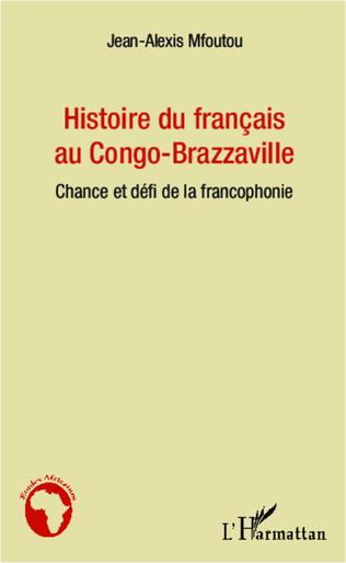 Couverture Histoire du français au Congo-Brazzaville