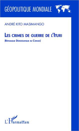 Couverture Les crimes de guerre de l'Ituri