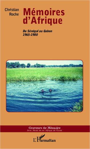 Couverture Mémoires d'Afrique