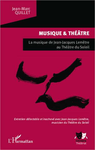 Couverture Musique et théâtre