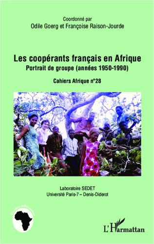 Couverture Les coopérants français en Afrique