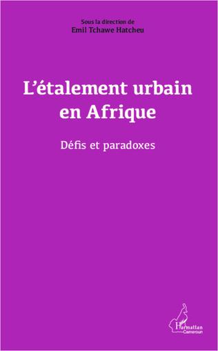 Couverture L'étalement urbain en Afrique