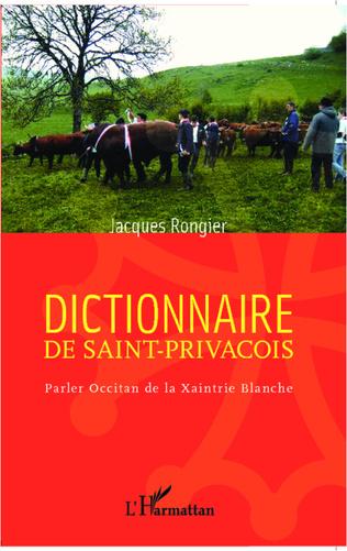 Couverture Dictionnaire de saint-privaçois