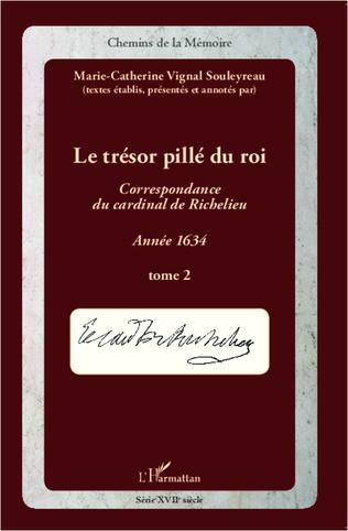 Couverture Le trésor pillé du Roi (T2)