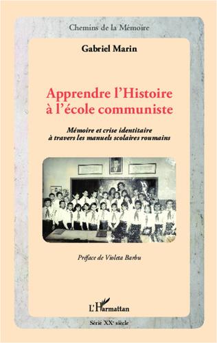 Couverture Apprendre l'Histoire à l'école communiste