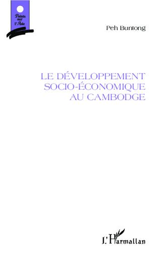 Couverture Le développement socio-économique au Cambodge