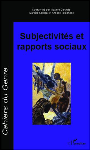 Couverture Subjectivités et rapports sociaux