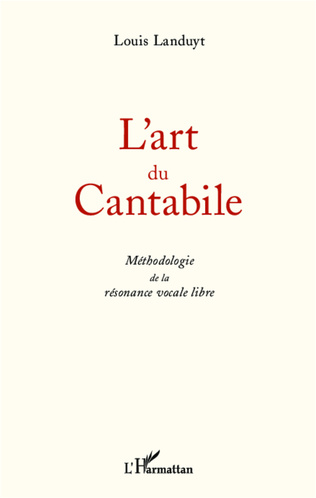 Couverture L'art du Cantabile