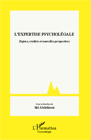 Couverture L'expertise psycholégale