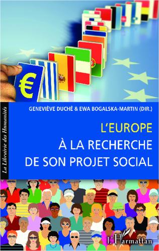 Couverture L'Europe à la recherche de son projet social