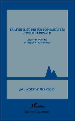 Couverture Traitement des responsabilités civile et pénale