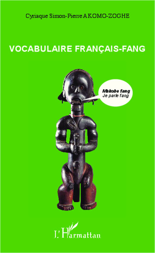 Couverture Vocabulaire français-fang