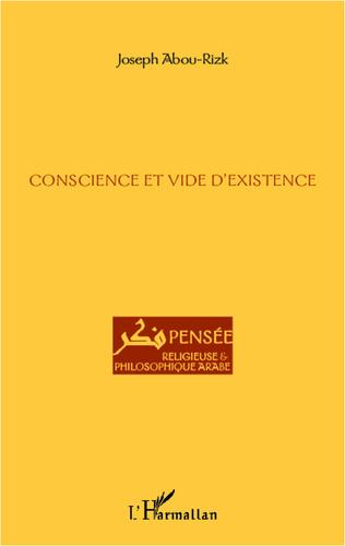 Couverture Conscience et vide d'existence