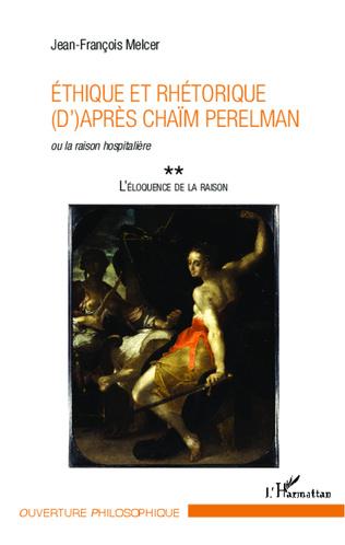 Couverture Ethique et rhétorique (d')après Chaïm Perelman