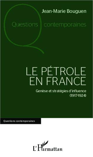 Couverture Le pétrole en France