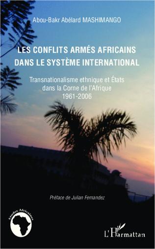 Couverture Les conflits armés africains dans le système international